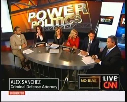 Alexander Sanchez on CNN News Show